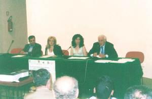 Il dott. L. Catagnano, la dott. M.C. Borgese, io, il Geom. Paolino Calvaruso