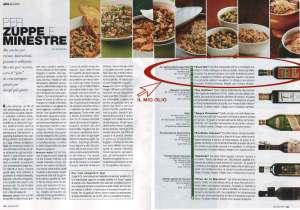 Il mio olio su La Cucina Italiana di Gennaio 2009