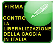 Firma: No alla caccia libera!!!