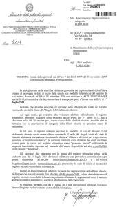 06 agosto 2010 circolare mipaaf registro carico e scarico olii sicilia
